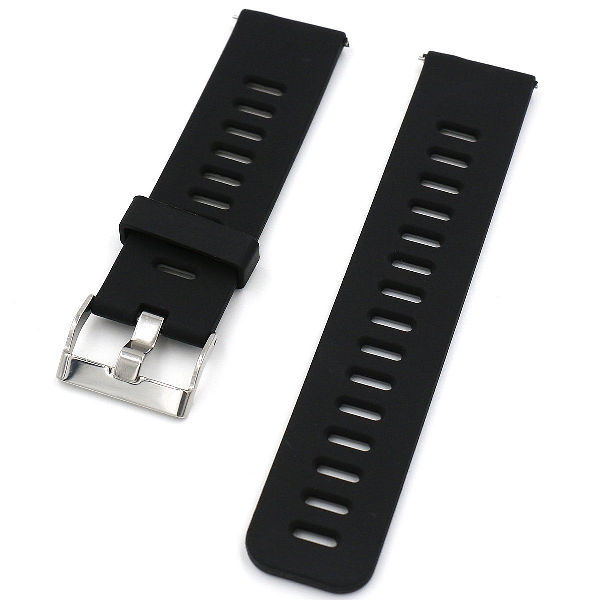 YANRAN 22mm Watch Band Strap Replacement Bracelet Silicone Watchband Straps for Samsung Gear 2 Samsung Gear S3 Pebble Time Moto 360 2nd 46mm LG G ...