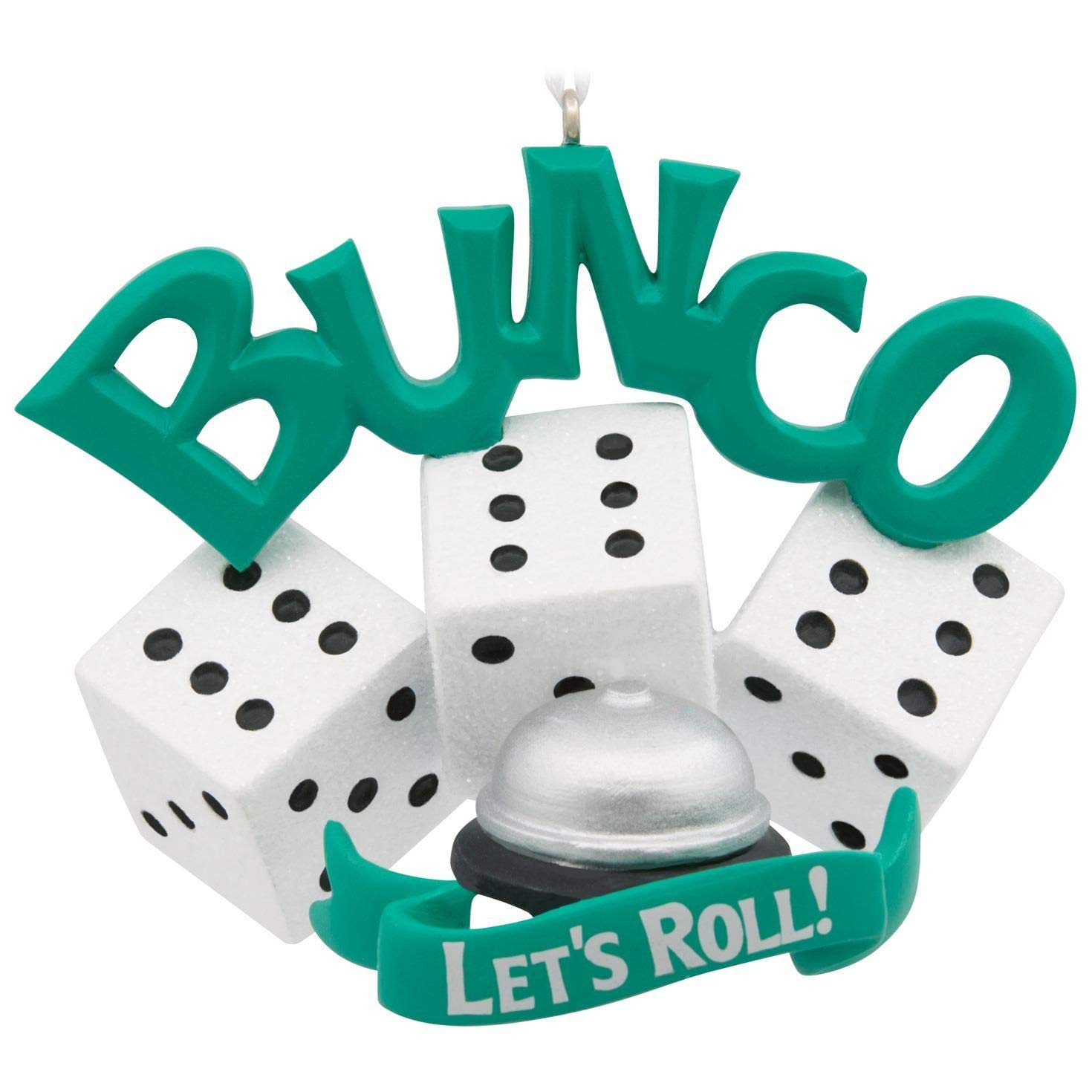 Amazon.com: Hallmark Bunco Ornament Hobbies & Interests: Home & Kitchen