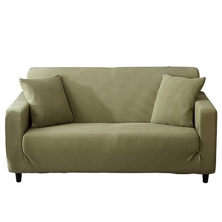 Zzy Funda de Color sólido, Cubre sofá elástica, Castillos ...