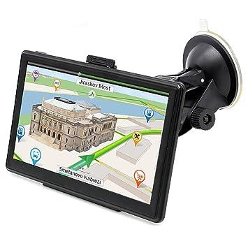 """Navegacion con Pantalla Táctil de 7"""" para Camión y Coche GPS Navegador Windows 8GB Navegación"""