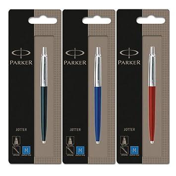 Parker Jotter Ballpoint Pen with Blue Body