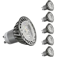 CY LED 3W MR16 GU10 LED Bulbs, 35W Halogen Bulbs Equivalent, 350lm,Cool White Dimmable, 6000K, 45°Beam Angle, Recessed…