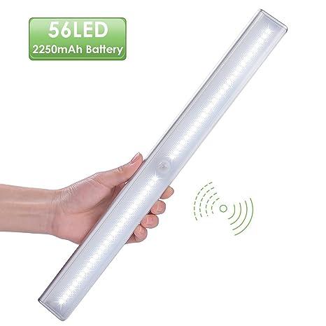 LOFTer 56 LED Luz Inalámbrica con Sensor de Movimiento y Crepúsculo, Luz para Armario con