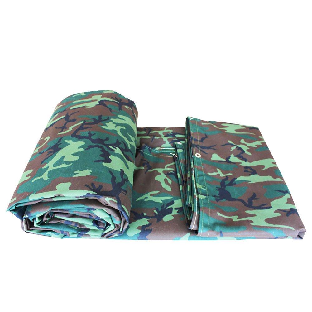 KXBYMX Camouflage Plane, Wasserdichte Poncho Camping Matte Zelt Zelt Zelt Tuch Outdoor Cargo Sonnenschutzisolierung tragen Leinwand Plane wasserdichter, strapazierfähiger, hochwertig B07PMD21R3 Zeltplanen Angenehmes Gefühl c7c4ec