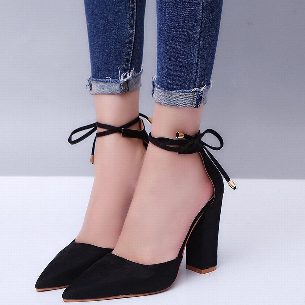 YTTY Mode und Größe Grobe Grobe Grobe Fersen mit Riemen Sandalen Schuhe B07CYTNLDC Sport- & Outdoorschuhe Starke Hitze- und HitzeBesteändigkeit 7a56c4
