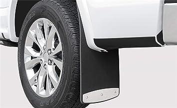 "Plain Black 24/"" x 27/"" Angled Semi-Truck 1//4/"" Thick Rubber Mud Flaps-Set"
