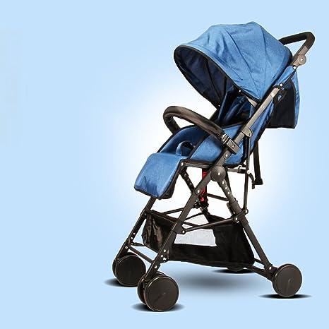 JM Carro de bebé Silla ligera para niños Silla carrito para bebés Silla alta para paisaje