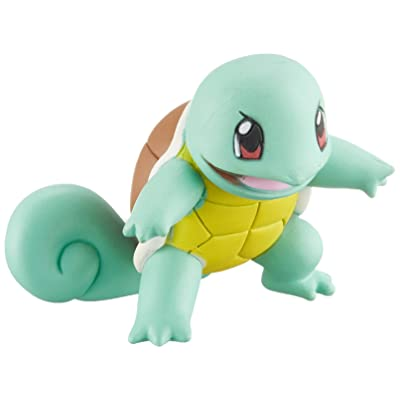 Takaratomy Pokemon Sun & Moon EX EMC-17 Mini Action Figure, Squirtle: Toys & Games