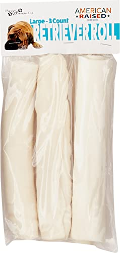 Pure Simple Pet 6391 Retriever Roll 8 , Large 3 Pack