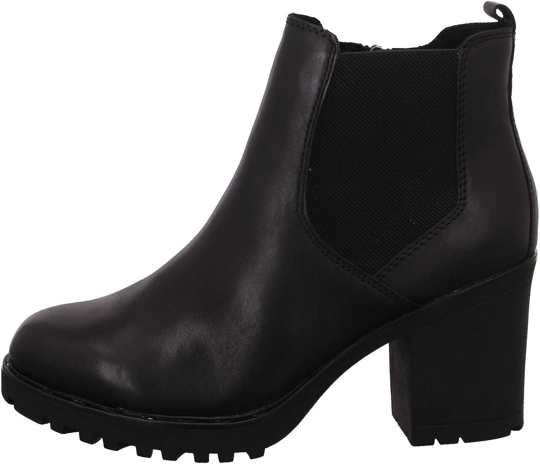 MARCO TOZZI Women's Damen 2-2-26820-25 Leder Stiefelette Snow Boot Black Antic
