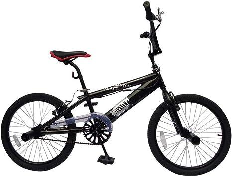 BMX bicicleta BMX Black Phantom color negro ruedas de 20 pulgadas ...