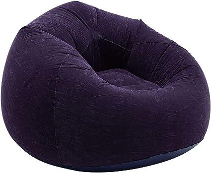 Iraza Puff Funda de Bean Bag,Kit de Sillónes de Hinchables de Adulto Infantil para Sala Dormir (Armada, 110_x_110_x_85_cm)