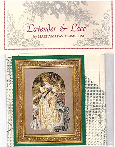 Lavender & Lace Counted Cross Stitch Pattern Chart ~ QUEEN ANNE'S LACE #34 - Lavender And Lace Cross Stitch
