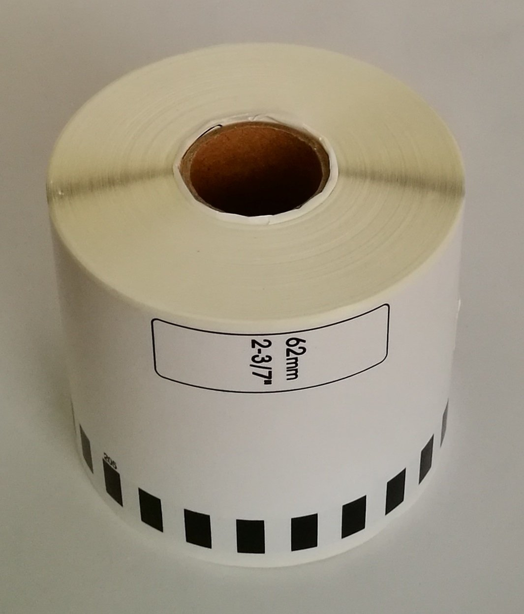 Hydrapower Brother Compatible DK4205 Removable Continuous Paper Labels (6 rolls + 1 reusable cartridge)