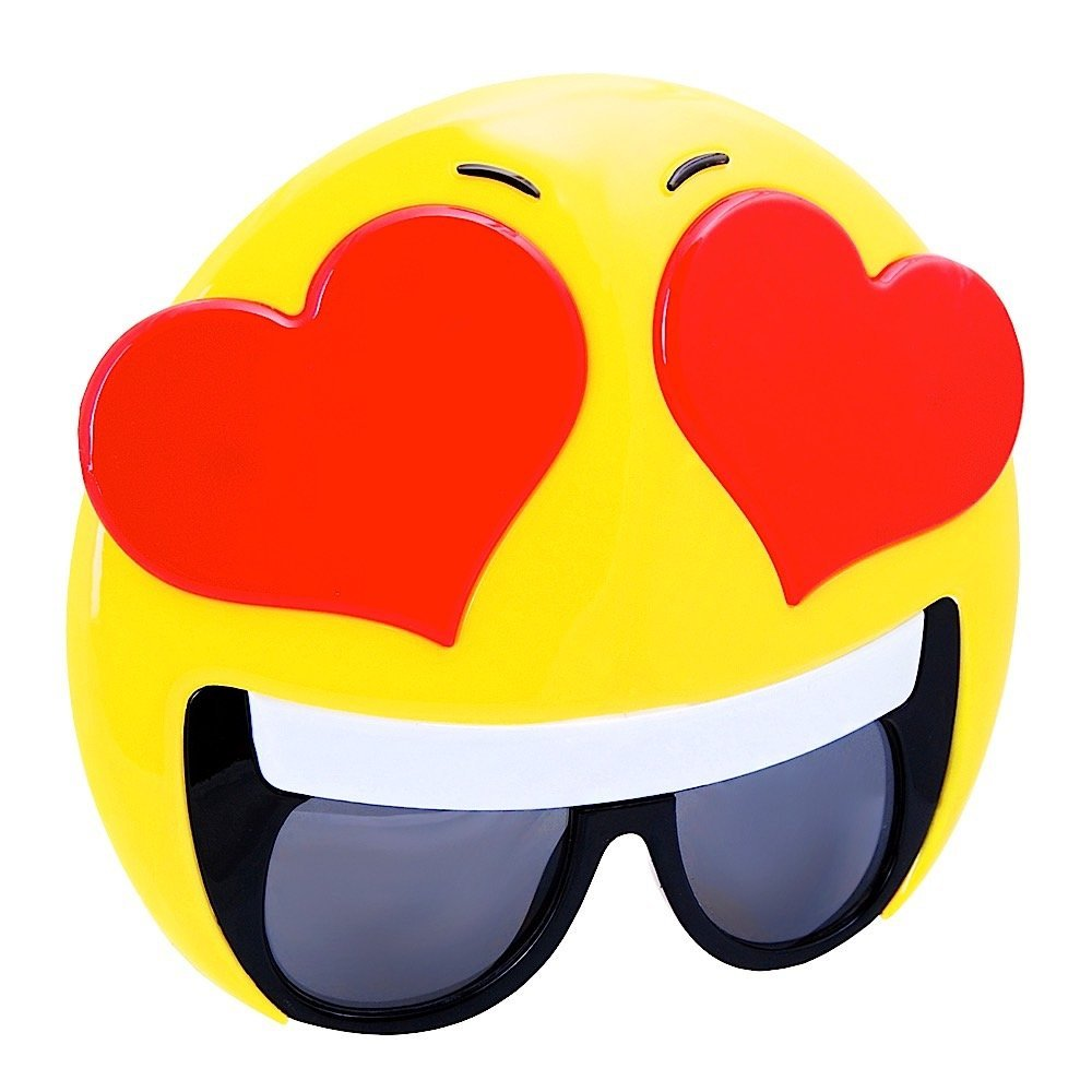 Sunstaches Emotion Emotion Sunstaches Hearts Sunglasses by Sun-Staches a28465