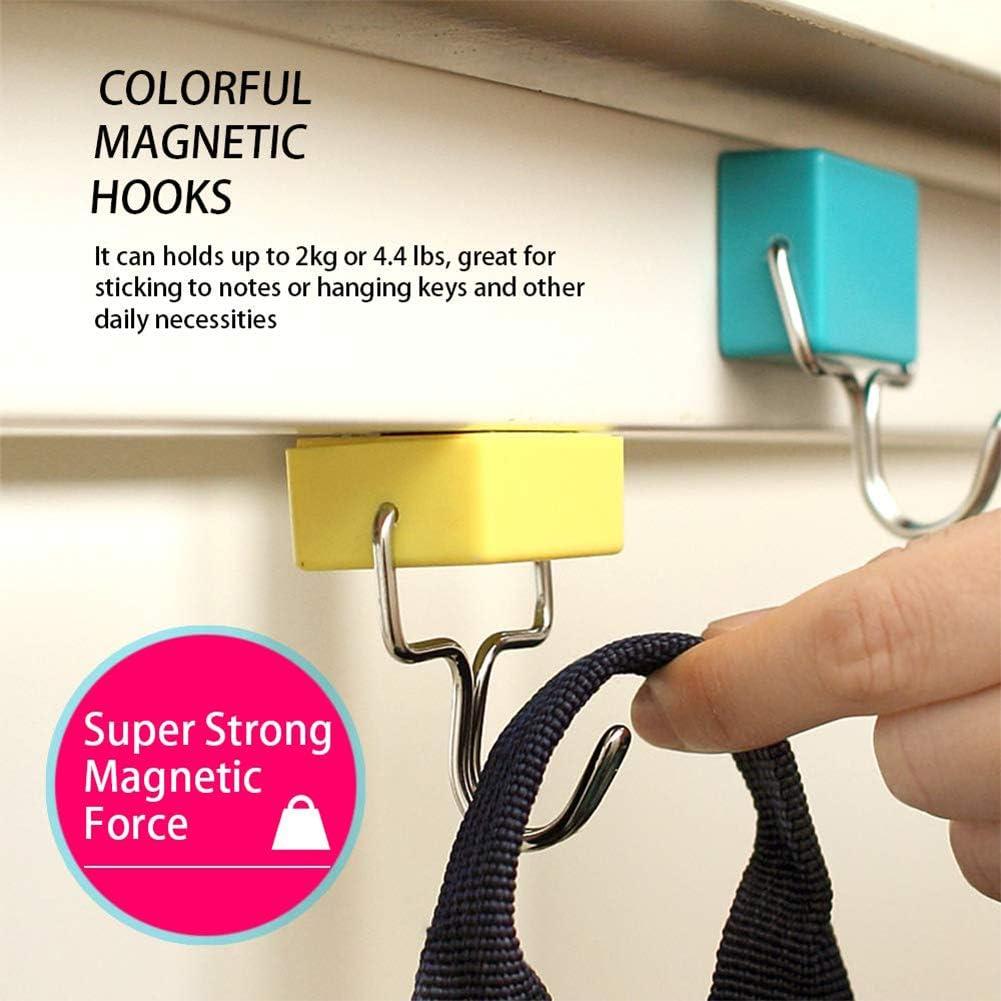 Swiftswan Allzweckmagnethaken Kreative Magnethaken Superstarke Magnethaken Bunte Magnethaken Leistungsstarke Magnethaken