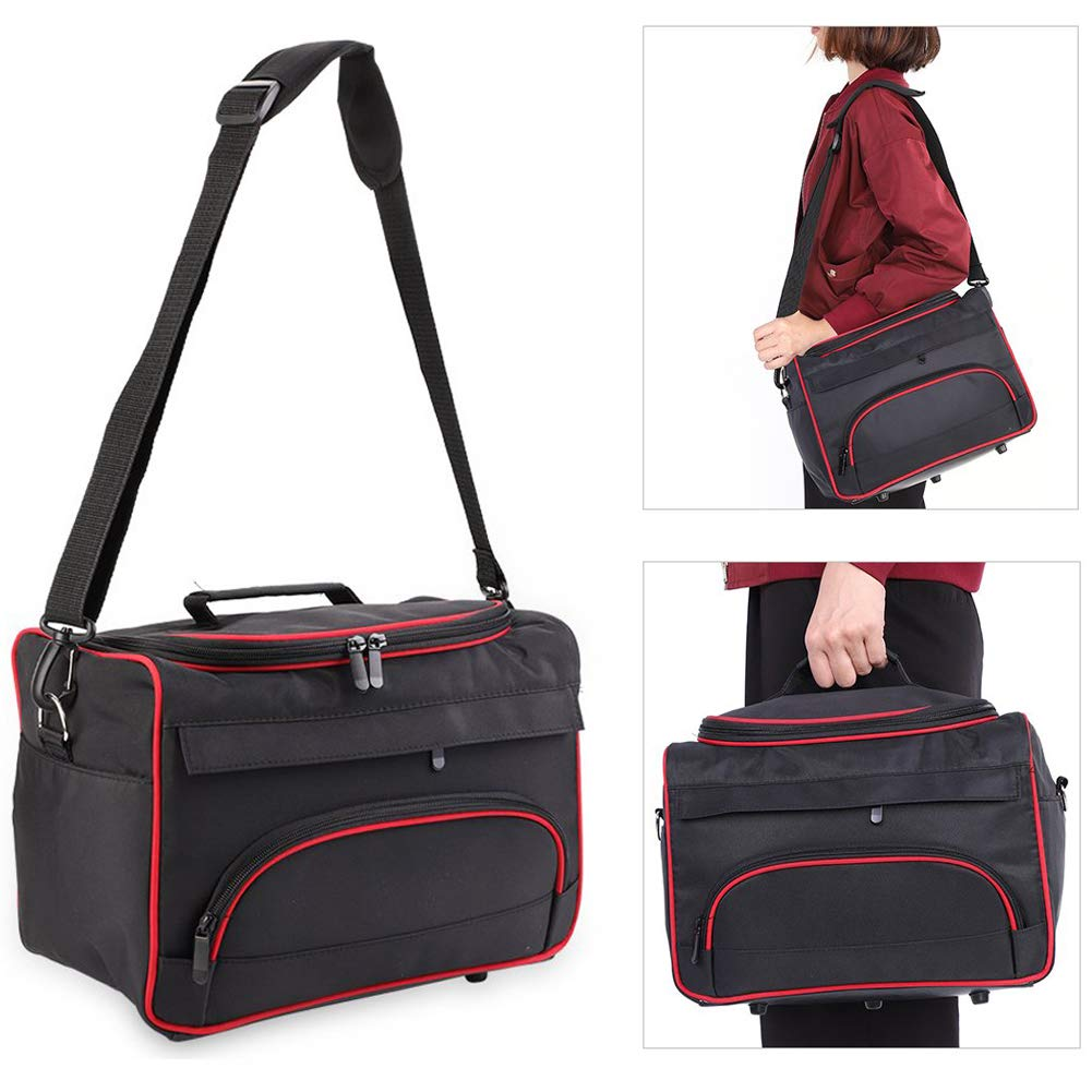 Hairdressing Handbag, Large Storage Multi-function Portable Hairdressing Makeup Travel Home Hair Stylist Tool Bag