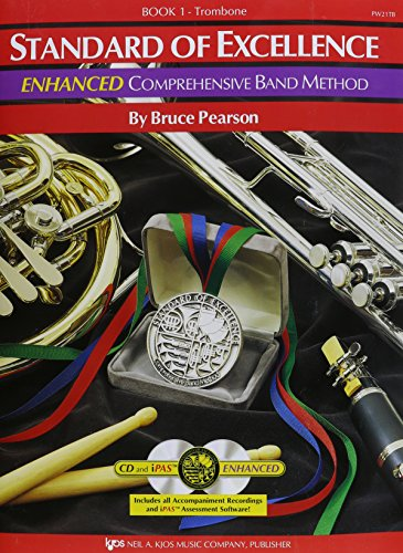 Stand.Of Excel.,Bk.1 Trombone W/2 Cds