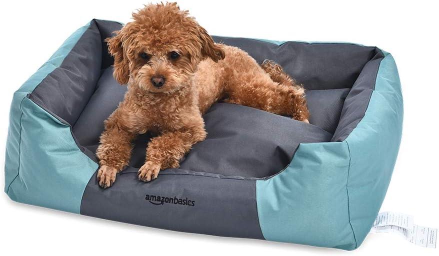 AmazonBasics Water-Resistant Pet Bed, Rectangular