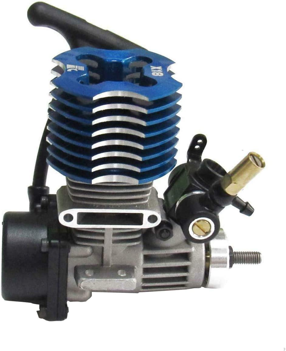 powerday FC X18 Engine 2.95cc Pull Starter 1.80HP for HSP 1//10 RC Nitro Car Buggy Redcat