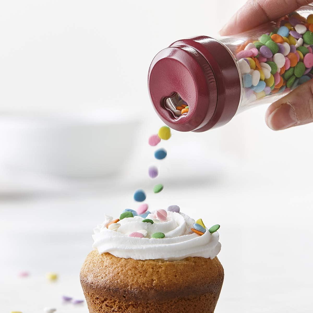 Trudeau Bakeware Sprinkle Shaker Fuschia Set of Two