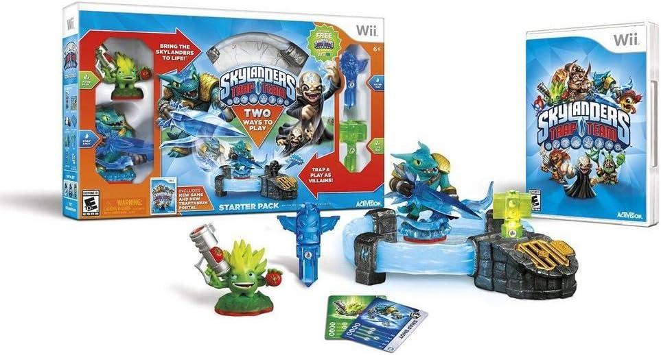 Skylanders Trap Team Starter Pack for Nintendo Wii vídeo juego: Amazon.es: Videojuegos