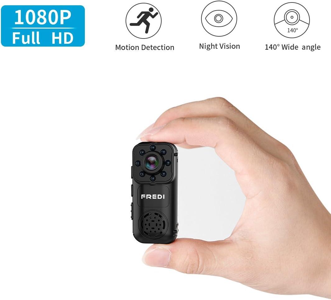 720P HD Wifi Hidden Camera Mini Spy Cam Small Wireless FREDI Hidden Spy Camera
