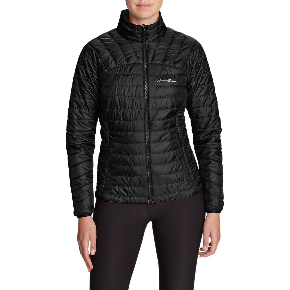 Eddie Bauer Women's IgniteLite Reversible Jacket, Blk L