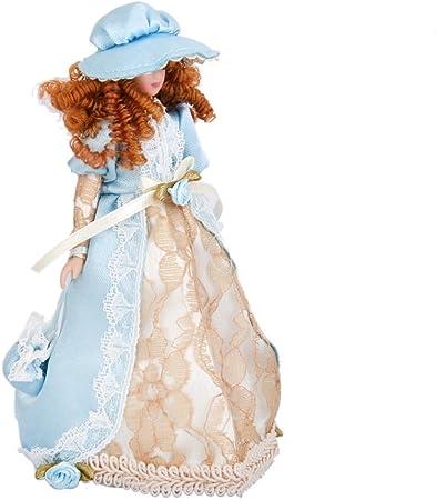 Casa De Muñecas Victoriano Parlour Criada Mujer Señora criado en Miniatura Porcelana personas