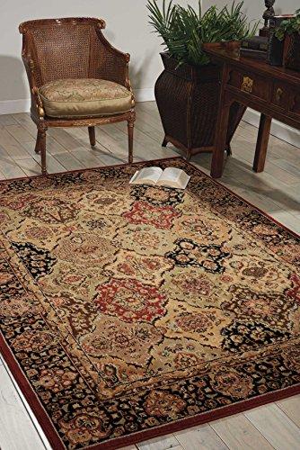 (Nourison Ki06 Lumiere (KI601) Multicolor Rectangle Area Rug, 7-Feet 9-Inches by 10-Feet 10-Inches (7'9
