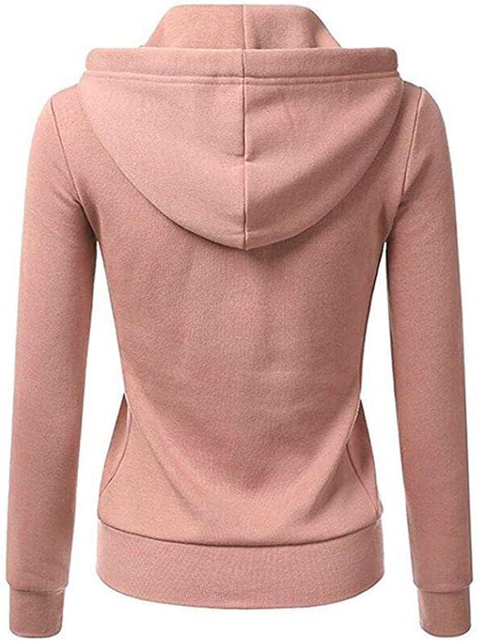 Fainosmny Women Ladies Faux Fur Coat Jacket Plus Size Winter Zipper Turn Down Collar Outerwear Sweater Cardigan