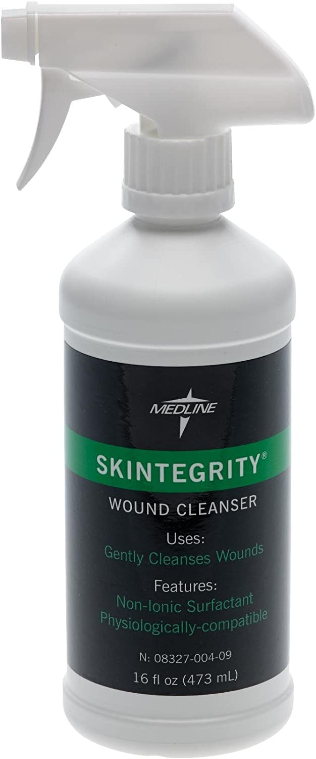 Medline Skin integrity Wound Cleansers, 16 fl oz.