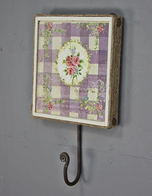 elbmöbel.de - Perchero para Pared, diseño Floral y de ...