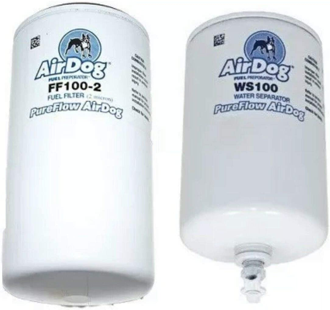 AirDog FF100-2 /& WS100 Pureflow Replacement Fuel /& Water Separator Filters
