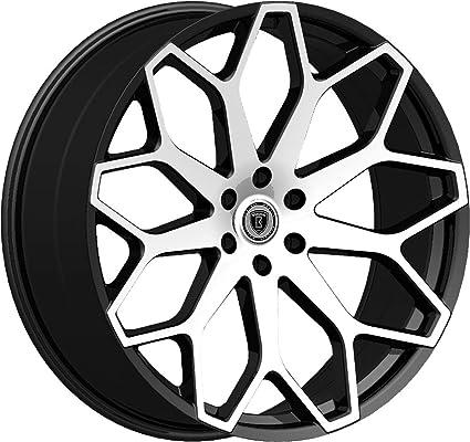 Amazon Com 24 Inch Borghini B28 Black Machine Wheels Tire