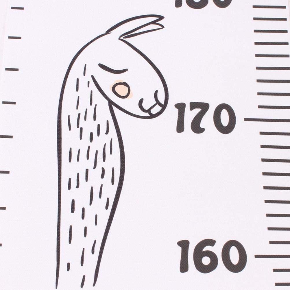 Koojawind Bricolage B/éB/é Accessoires De Photographie Mur Autocollant Hauteur Souverain B/éB/é Croissance Graphique Toile Tenture Murale R/èGle De Mesure Pour Enfants Gar/çOns Filles