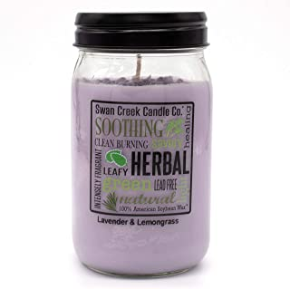 product image for Swan Creek Candle Lavender & Lemongrass 24 Oz Candle