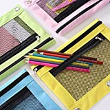 3 Ring Pencil Pouch, Binder Pencil Pouch with