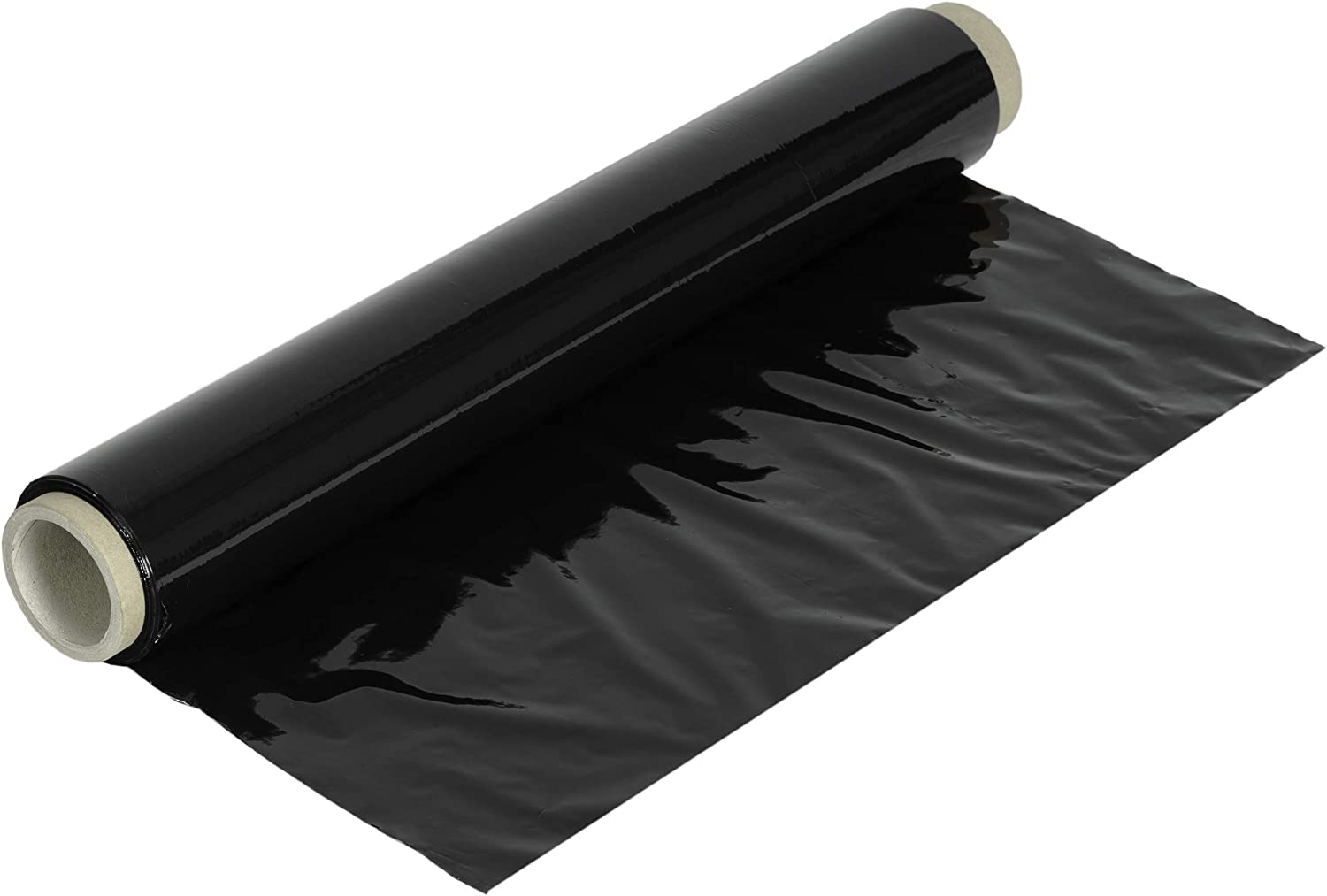 Rollo film estirable manual 23my, 2 kg (Negro)