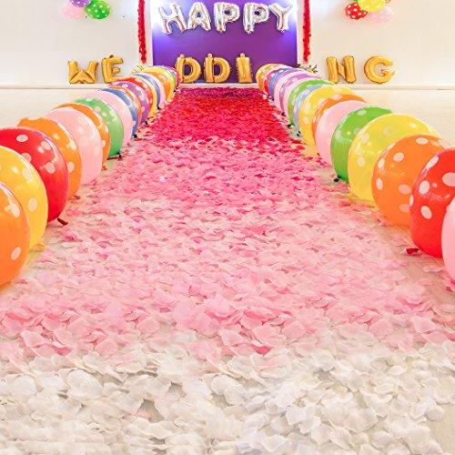 Neo-LOONS-2000-Pcs-Artificial-Silk-Rose-Petals-Decoration-Wedding-Party-Color-Light-Lavender