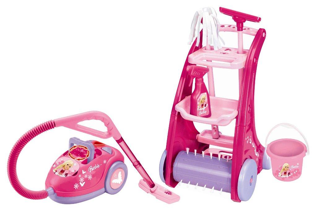 LEXIBOOK RPB515 - Set de limpieza con diseño de Barbie: Amazon.es: Juguetes y juegos