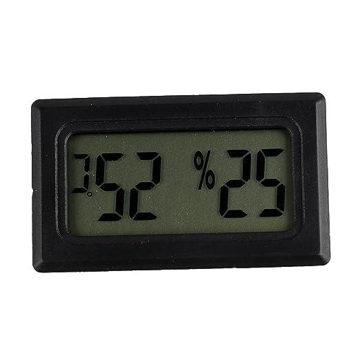 3 opinioni per TOOGOO(R) Mini LCD Termometri Igrometri Digitali Tester di Temperatura e