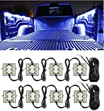 Automotive Accessories Exterior Best Deals - Truck Bed Light Kit with 48 Super Bright Color White LED Waterproof Lighting System for Pickup Truck Unloading Cargo Area
