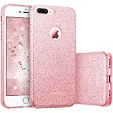 iPhone 7 Plus Case, ESR Bling Glitter Sparkle Three Layer Shockproof Soft TPU Outer Cover + Hard PC Inner Protective Shell Skin for Apple 5.5