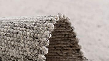 Pergamon Natur Teppich Wolle Beidseitig Island Beige In 8 Grossen