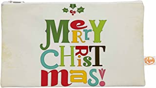 Kess interne 12.5 x 21,6 cm Noonday design'Merry Christmas' tutto, colore beige/verde