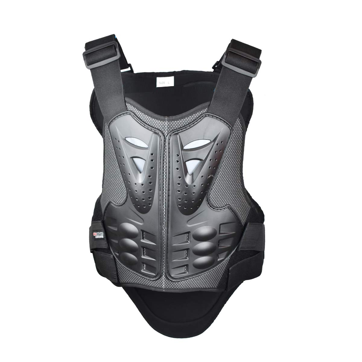 Madbike Vest Armor Motorcycle Protector for Chest and Back Protection XX-Large