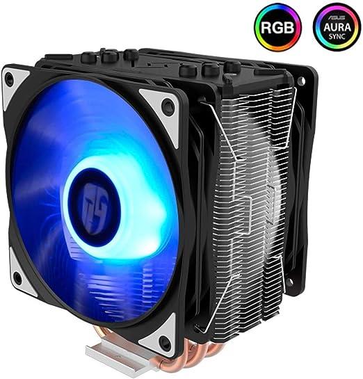 LEIXIN Disipador de Calor Radiador de la CPU Host Ventilador de ...