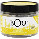 BOU Chicken Flavored Bouillon Cubes, One 2.53 Ounce Container Packed with Natural, Traditional Ingredients