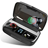 MuGo Wireless Earbuds, Bluetooth Headphones with Premium Sound Quality 96H Playtime, IP7 Waterproof Bluetooth Earbuds, Ultra-